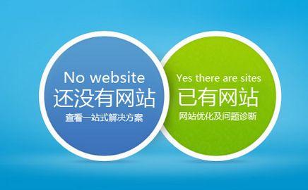 已有网站和没有网站对比