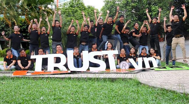 公司网站trust.vn  -  thietkewebsite.com